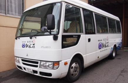 福島駅からの無料送迎バス