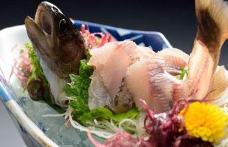 岩魚の姿造り1,100円(税別)
