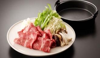 牛すき焼き2,500円(税別)